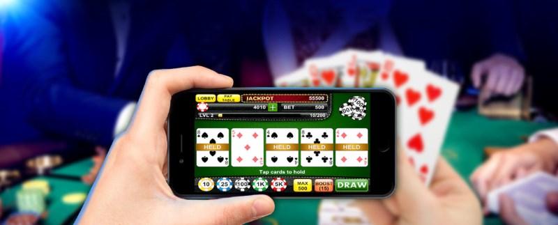 Videopoker på mobilen